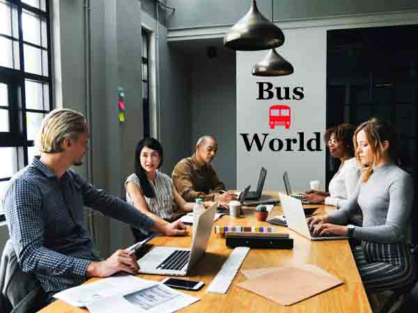 Bus World office